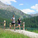 Trainingslager St. Moritz 2019 erster und zweiter Tag